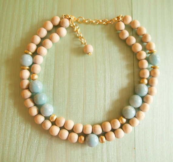 chalcedony and wood