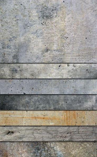 gray wood panels