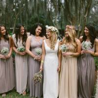 On My Way Down the Aisle: Bridesmaids Dresses